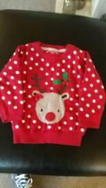 Christmas jumper 12-18 months
