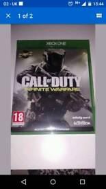 Xbox one game call of duty i.warfare