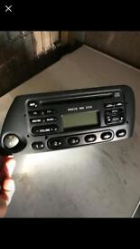 Ford Ka Genuine CD player 6000 rds All in good working order with code Can post for free to UK