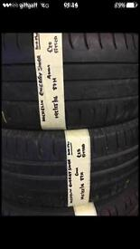 195/55/16 87H Michelin Energy Saver Pair Of 2 Tyres