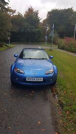 Mazda MX5 Blue 2007 2.0i Sport 6 Speed Private Plate