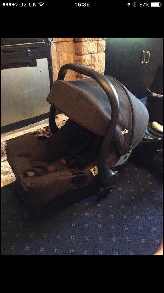 Joie I-gemm car seat& Riviera Pushchair