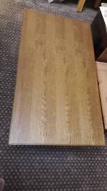 Oak Veneer Thock Coffee Table
