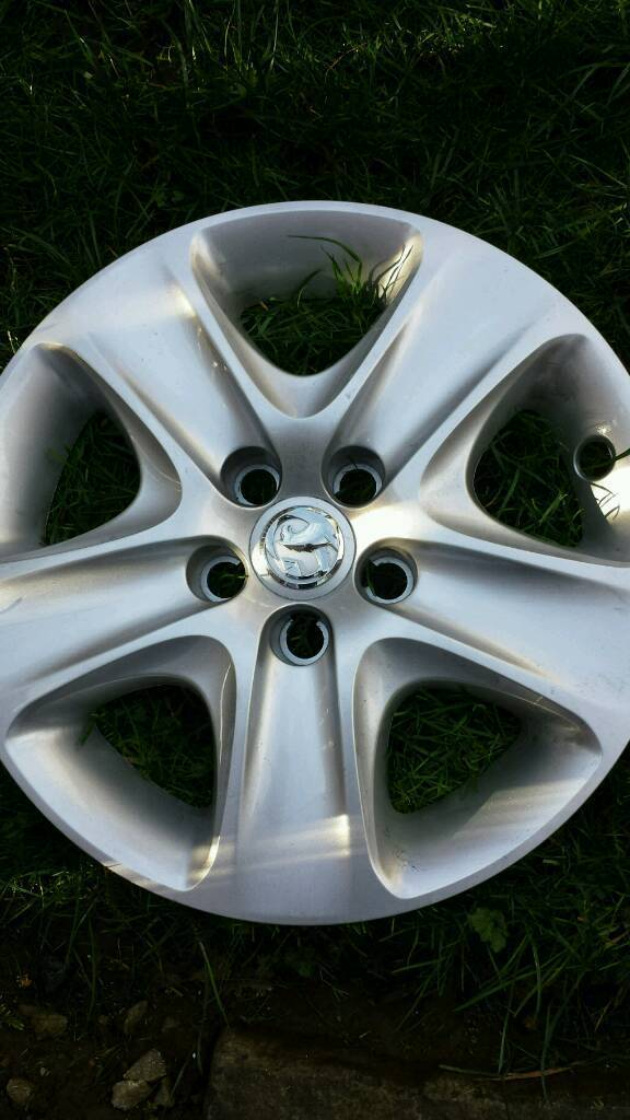 16 inch vauxhall wheel trims