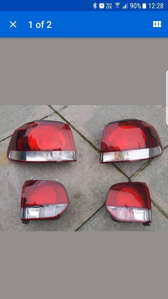 Golf mk6 gti/gtd rear lights.