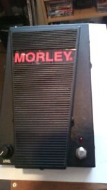 for sale a morley expression pedal with level control.