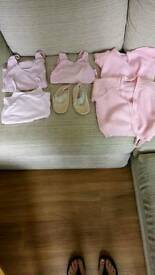 Ballet clothes age 4 to 6