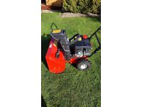 MDT petrol snow blower with 2 stage blower.