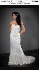 Harvey Nicholas wedding dress