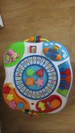 Winfun Letter Train And Piano Activity Table (used but in great condition)
