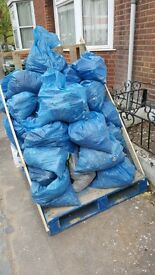 removal of rubble sacks