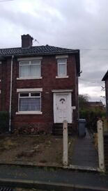 PRIVATE TO LET 2 BEDS UNFURNISHED END TERRACE HOUSE *NO DSS* (close to Tesco & Festival Park)