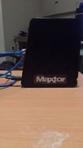 Maxtor Central Axis Network Hard Drive 1TB