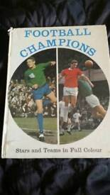 Football champions book 1970