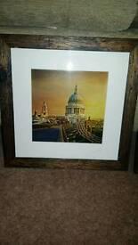 London framed prints