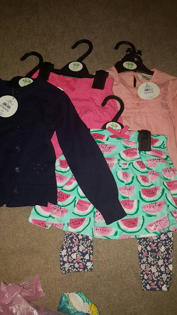 Bundle of girls 2-3 clothes all new
