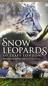 Snow leopards of leafy london 3X DVD