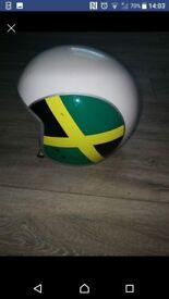 Vespa helmet size L jamacian style