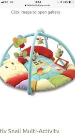 Baby playmat gym from John Lewis