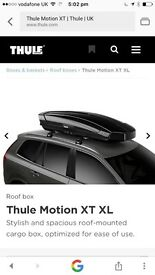 Thule motion xt xl roof box