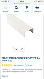 Talon 15mm double pipe cover 3 x 2.5 meter lengths