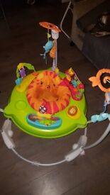 BABY BOUNCER. Colourful with music