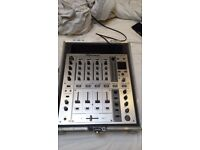 Mint Condition Pioneer DJM 700 DJ Mixer with Swann flight case - Similar to Allen & Heath's Xone