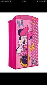 Minnie Mouse canvas wardrobe