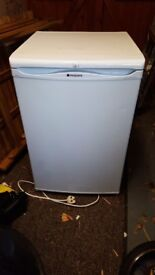Hotpoint under counter fridge. Iced diamond. Vgc