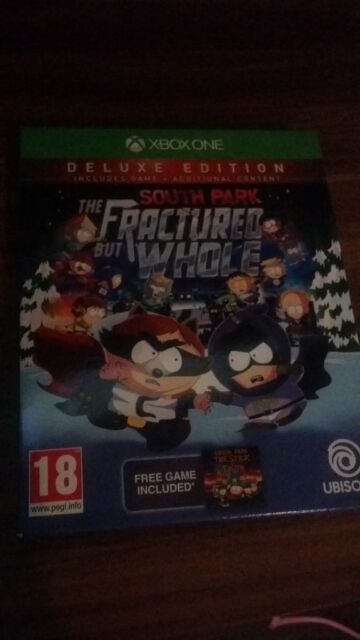 south park the fractured but whole deluxe edition pc