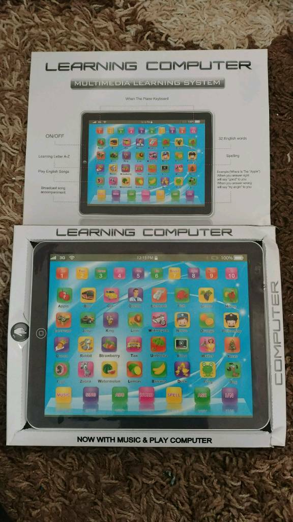 Kids Toy Tablet