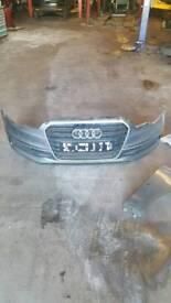 Audi a6 c7 sline front bumper