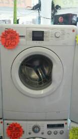 BEKO WHITE 7KG LOAD 1400 SPIN DIGITAL SCREEN WASHING MACHINE