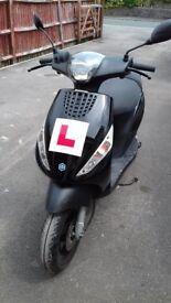 Piaggio Zip 50 Moped. 2016 '66 Plate