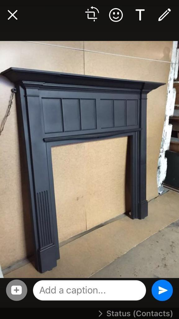 83B DEl £25 most uk large Victorian fireplace fire surround