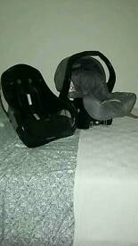 Graco child's car seat and base
