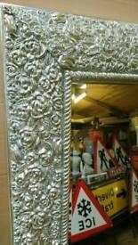 Rose petal framed full length mirrors brand new Sale