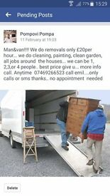 L@@K MAN AND VAN CHEAP!!!! ONLY £20