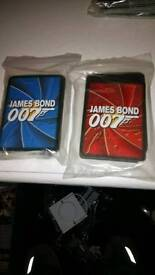 JAMES BOND COLLECTORS CARDS