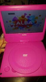 Kids portable dvd player