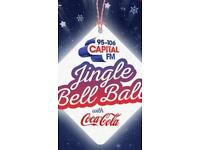 JINGLE BELL BALL TICKETS X2 Sunday