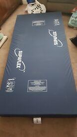 Supaflex SX65 foam mattress for Domestic/Nursing Care Use.