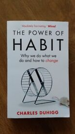 Brand new book gift The Power of Habit by Charles Duhigg lifestyle psychology behaviour