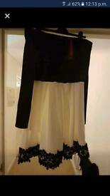 Womens off the shoulder dress size 14