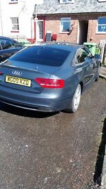 Beautiful 2 door A5 coupe full service history ..9 months mot ..sline tfsi full leather sline seats