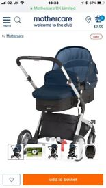 Mothercare 3 in one roam travel system