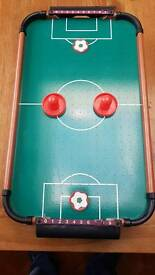 Miniature table football game