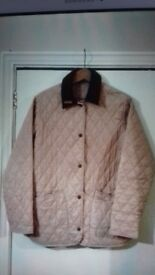Pink barbour jacket