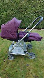 Mamas and Papas Urbo Elite Pram / Travel System / Buggy from birth lightweight