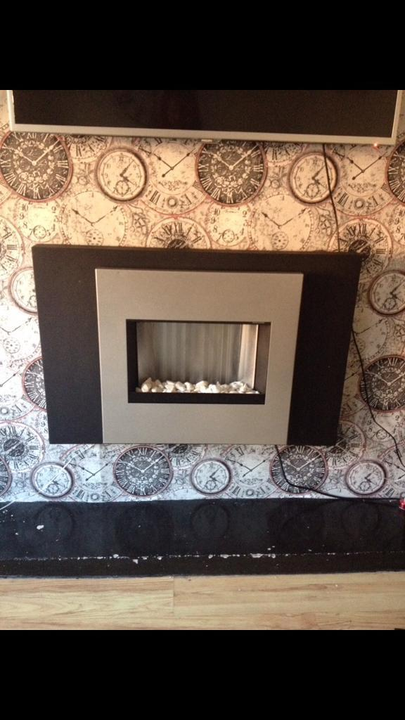 Wall Hanging Electric Fire colour change